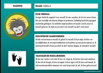 Gorilla - paspoort