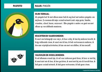 Pinguïn - paspoort